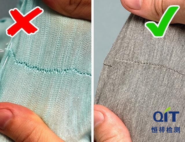 纺织织物接缝强力测试方法及对比